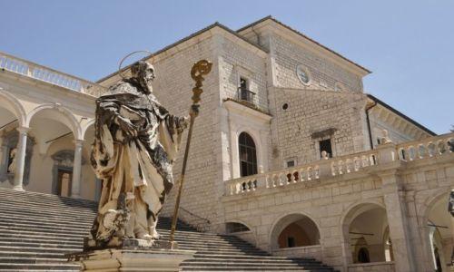 Zdjęcie WłOCHY / Lazio, Apeniny Środkowe / Monte Cassino / Monte Cassino
