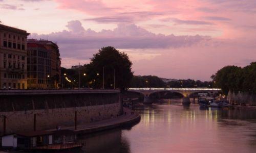 Zdjecie WłOCHY / Lazio / Rzym / Zachód słońca w Rzymie