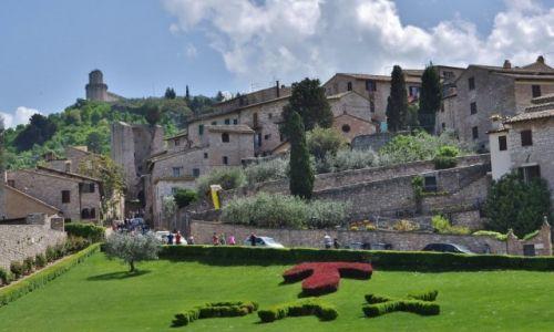 Zdjęcie WłOCHY / Umbria / Asyż / Plac przed Bazyliką