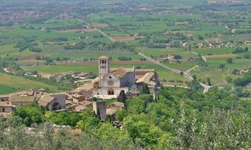 Zdjęcie WłOCHY / Umbria / Asyż / Bazylika Franciszkanów