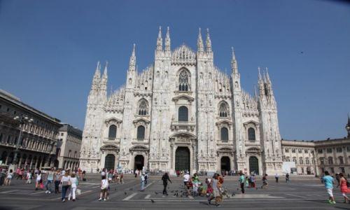 Zdjecie WłOCHY / Lombardia / Katedra Narodzin Św. Marii w Mediolanie / Duomo, perła architektury