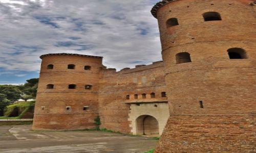 Zdjęcie WłOCHY / Lazio / Rzym / Lateran, mury