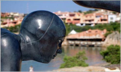 Zdjęcie WłOCHY / Sardynia / Porto Cervo / Fragment rzeźby