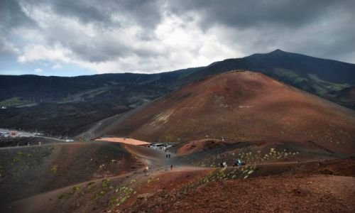 Zdjecie WłOCHY / Sycylia / ETNA / Kratery Etny