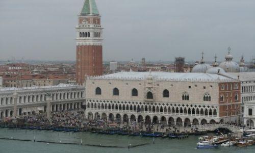 Zdjęcie WłOCHY /  Wenecja Euganejska / Wenecja / Dzwonnica San Marco