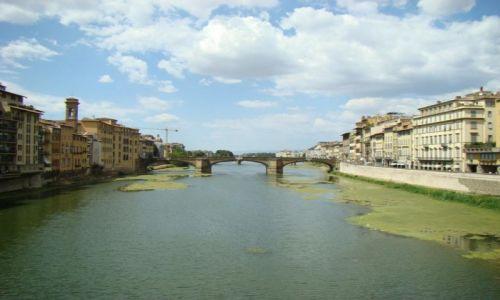WłOCHY / Florencja / Florencja / Most we Florencji