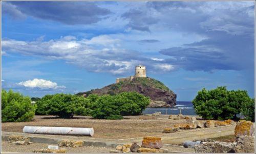 Zdjecie WłOCHY / Sardynia / Nora / Stanowisko archeologiczne