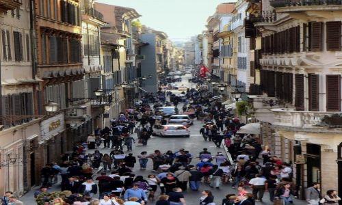 Zdjęcie WłOCHY / Lazio / Rzym / w wielkim mieście...