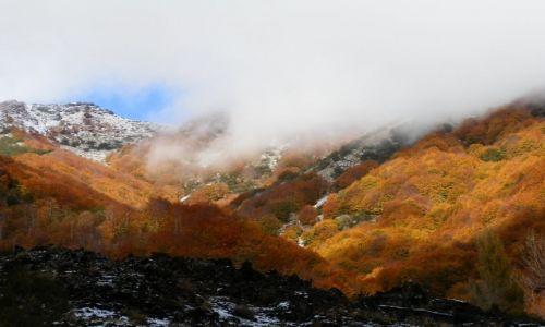 Zdjecie WłOCHY / Sycylia / Okolice Taorminy / Enta jesienno-zimowa