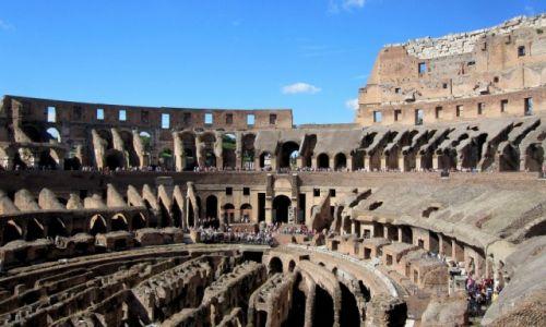 Zdjecie WłOCHY / Rzym / Lazio / Colosseo...