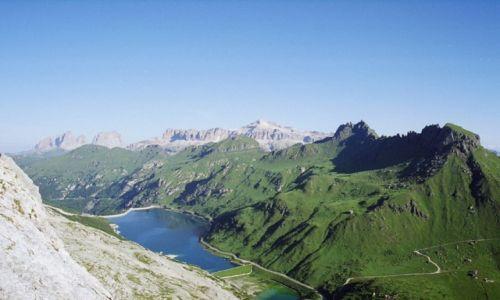 Zdjecie WłOCHY / Alpy - Dolomity / Marmolada / Sella z Marmola