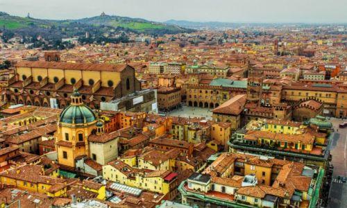 Zdjecie WłOCHY / - / Bolonia / Bazylika san Petronio i Piazza Maggiore