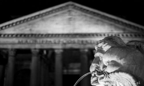 WłOCHY / Rzym / Panteon / Rzym Panteon 1