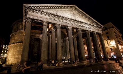 WłOCHY / Rzym / Panteon / Rzym Panteon 2