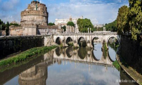 WłOCHY / Rzym / Zamek Świętego Anioła / Rzym - Zamek Świętego Anioła