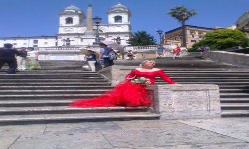 Zdjecie WłOCHY / - / Rzym / Rzym - Schody Hiszpańskie