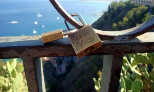 Zdjęcie WłOCHY / Sycylia / Taormina / Taras widokowy