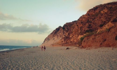 Zdjecie WłOCHY / Sycylia / Taormina / Plaża