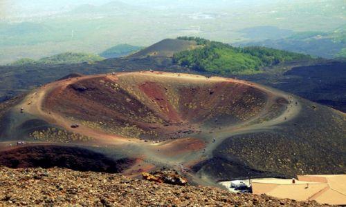 Zdjecie WłOCHY / Europa / Sycylia / Crateri Silvestri