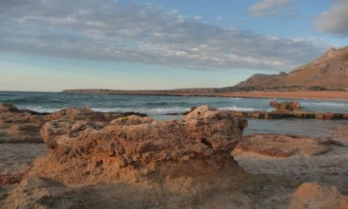 Zdjęcie WłOCHY / Sycylia / Golfo del Cofano / morze
