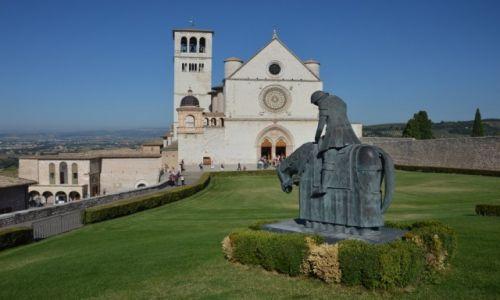 Zdjęcie WłOCHY / Umbria / Assisi / święty Franciszek