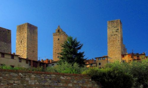 WłOCHY / Toskania / San Gimignano / San Gimignano