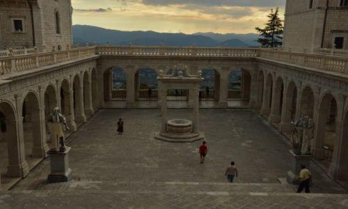 Zdjęcie WłOCHY / Apeniny Środkowe / Monte Cassino / klasztor
