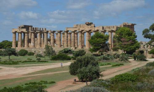 Zdjecie WłOCHY / Sycylia / Selinuate / Selinuate ruiny