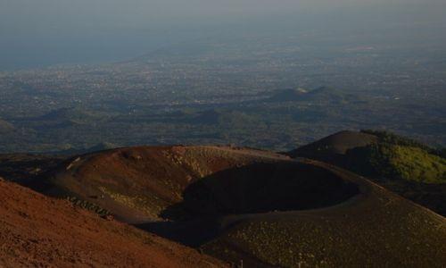 Zdjecie WłOCHY / Sycylia / Etna / krater