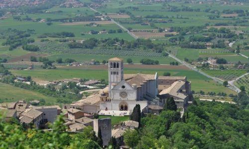 Zdjęcie WłOCHY / Umbria / Asyż / Asyż, bazylika św. Franciszka