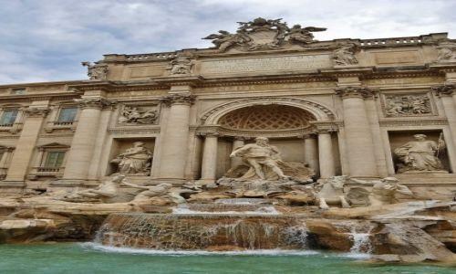 Zdjęcie WłOCHY / Lazio / Rzym / Rzym, fontanna Di Trevi