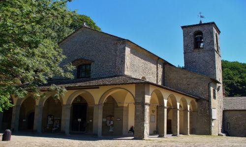 Zdjęcie WłOCHY / Toskania / La Verna / La Verna, kościół