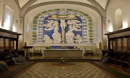 Zdjęcie WłOCHY / Toskania / La Verna / La Verna, Kaplica stygmatów