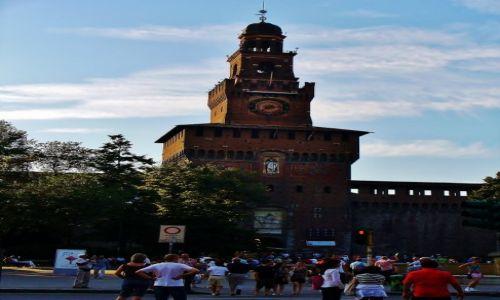 Zdjęcie WłOCHY / Lombardia / Mediolan / Mediolan, Castello Sforzesco
