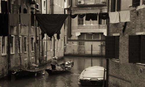Zdjęcie WłOCHY / płn. Włochy / Wenecja / Kanały...