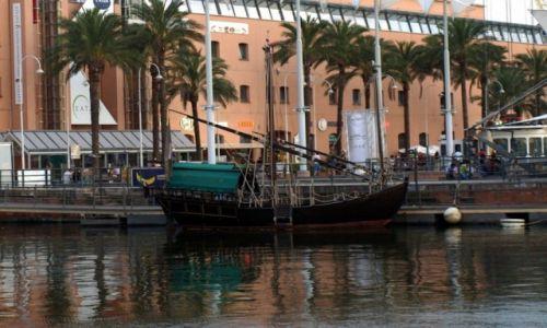 Zdjecie WłOCHY / Liguria / Genua / łodka