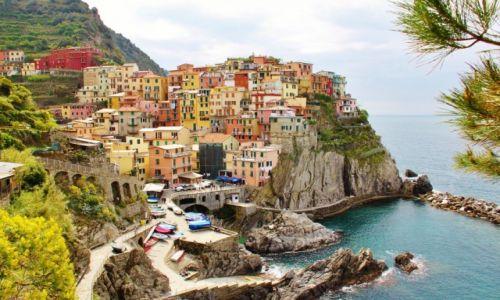 Zdjecie WłOCHY / Cinque Terre / Manarola / Cukierkowo