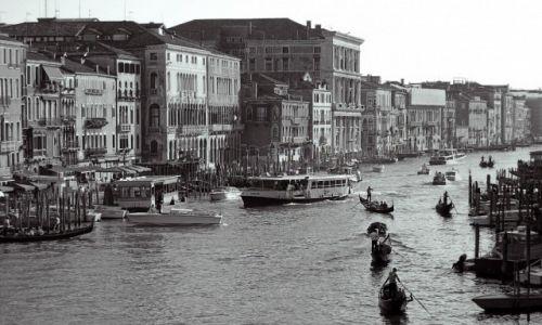 Zdjecie WłOCHY / Prowincja Wenecja / Wenecja / Kanał Grande