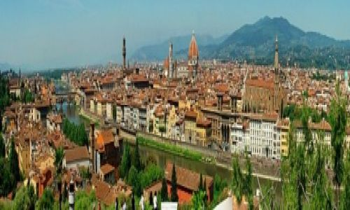 Zdjecie WłOCHY / Toskania / Florencja / panorama di Firenze