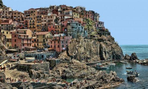 Zdjecie WłOCHY / Liguria / Manarola, Cinque Terre  / Urok starego miasteczka