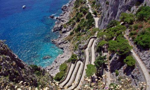 Zdjęcie WłOCHY / Kampania / Capri / Via Krupp