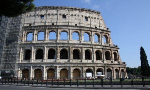 Zdjęcie WłOCHY / Rzym / Koloseum / Koloseum
