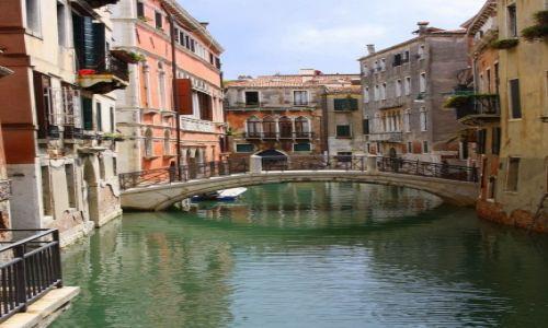Zdjęcie WłOCHY / Włochy / Wenecja / Kanały weneckie