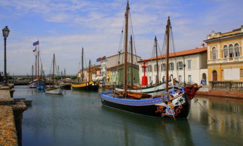 Zdjęcie WłOCHY / włochy / Cesenatico / port