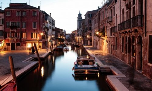 Zdjecie WłOCHY / - / WENECJA / Weneckie kanały