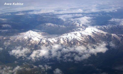 Zdjecie WłOCHY / Południe / Góry Alpy / Alpy z lotu ptaka