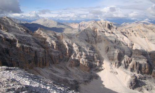 Zdjecie WłOCHY / Dolomity / Cortina d'Ampezzo / Widoki z ferraty  Tomaselli.