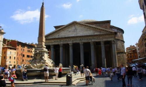 Zdjęcie WłOCHY / Rzym / Rzym / Panteon