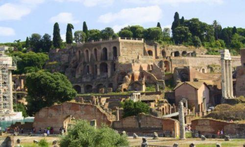 Zdjęcie WłOCHY / Rzym / Rzym / Forum Romanum