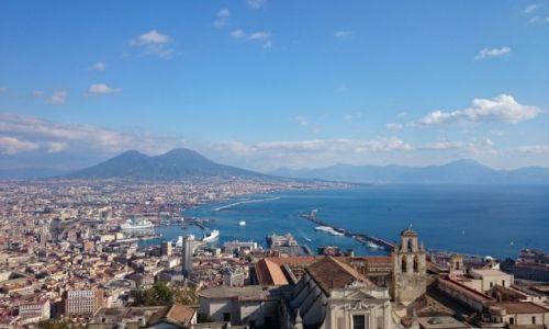 Zdjęcie WłOCHY / Neapol / Neapol / Wulkan Wezuwiusz